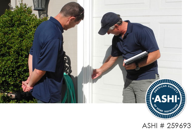 exterior inspection - AAA Home Inspections San Jose